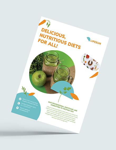 Dietitian Flyer Download