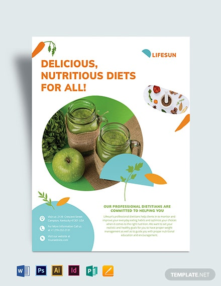 Dietitian Flyer Template