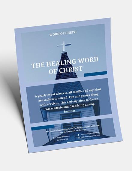 Modern Church Flyer Download