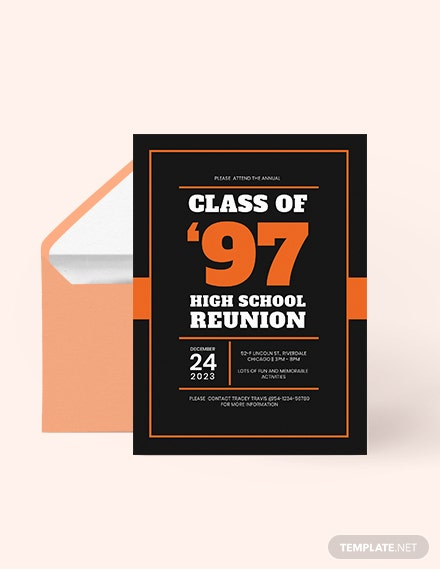 High School Graduation Invitation Download