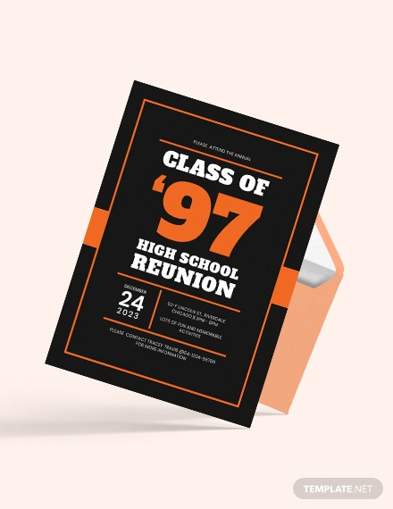 Sample High School Graduation Invitation