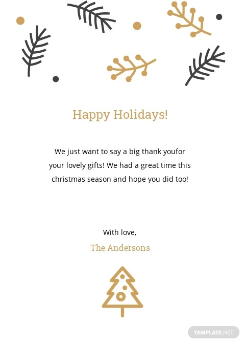 Christmas Holiday Thank You Card Template 1.jpe