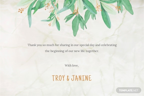 Rustic Floral Thank You Card Template 1.jpe
