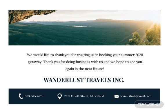Travel Agency Thank You Card Template 1.jpe