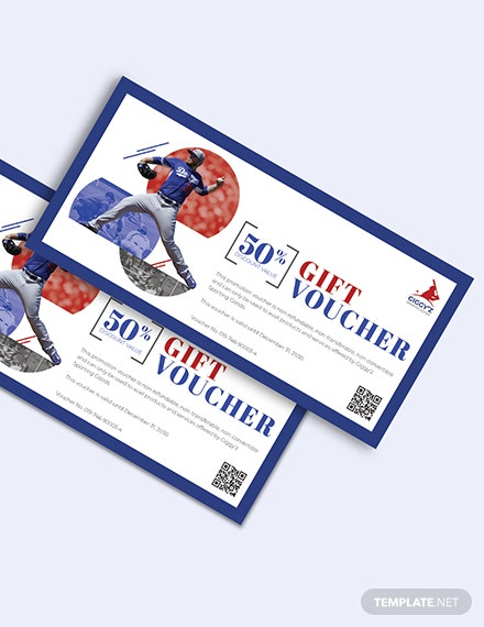 Baseball Voucher Download