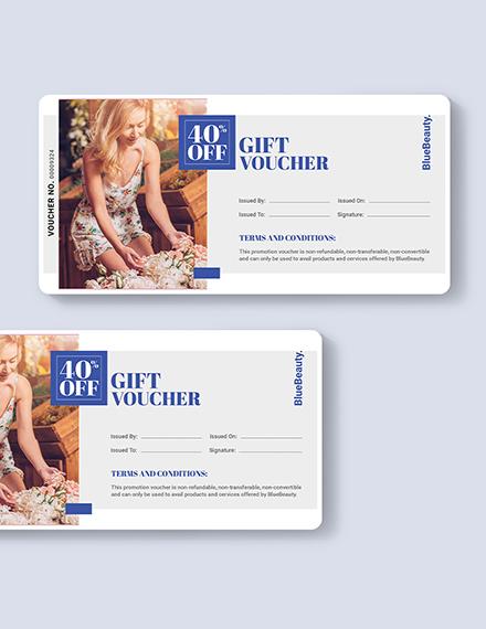 Beauty Book Voucher Download