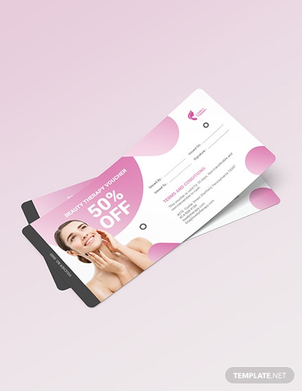 Beauty Therapy Voucher Download