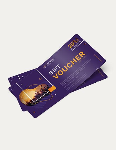 Event Promotion Voucher Download
