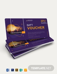 Event Promotion Voucher Template