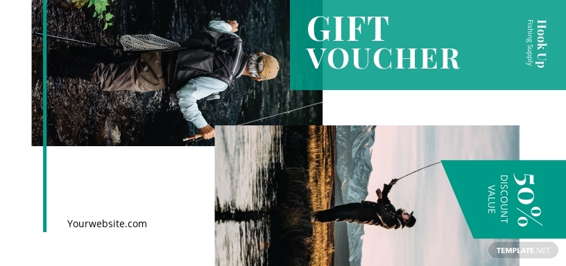 Fishing Voucher Template