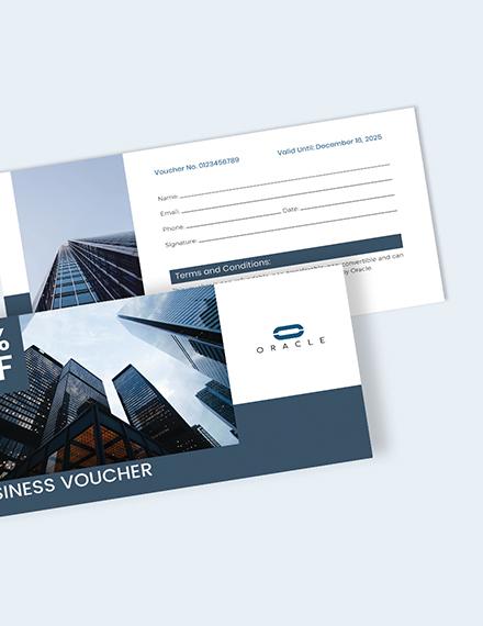 Sample Business Voucher Download