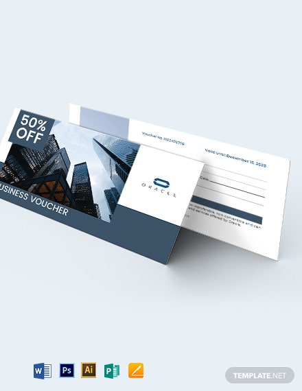 Sample Business Voucher Template