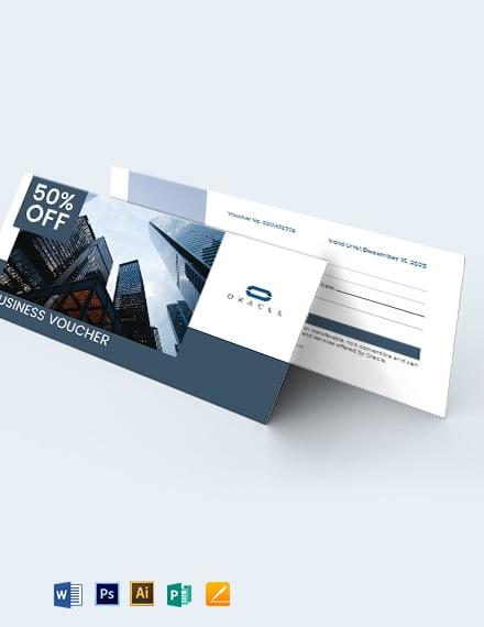 Sample Business Voucher Template