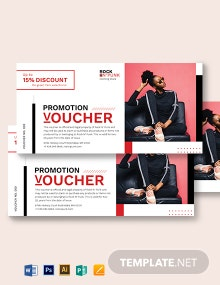 Store Promotion Voucher Template
