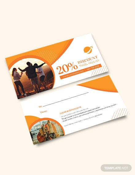 Printable Travel Voucher Template
