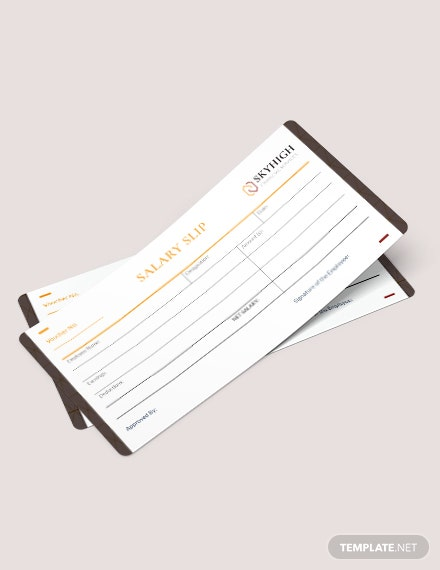download salary slip voucher template