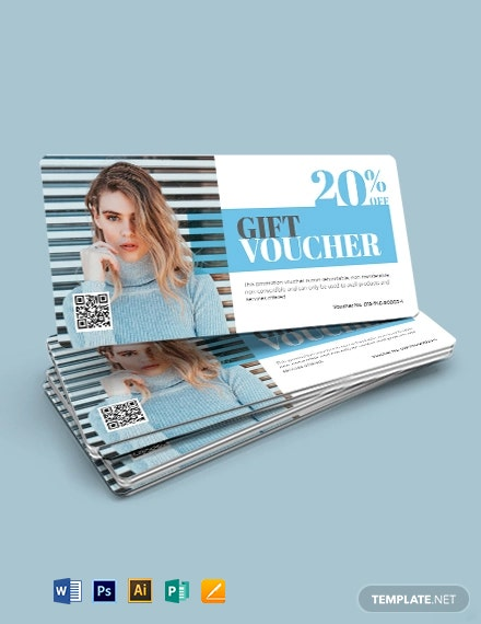 Sample Salon Voucher Template
