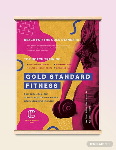 Fitness Poster Download