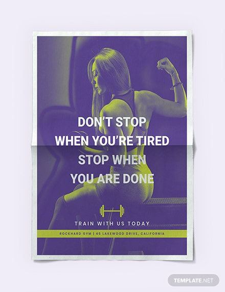 Gym Poster Download