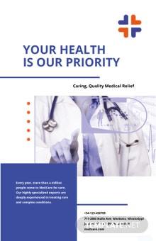 Health Care Poster Template