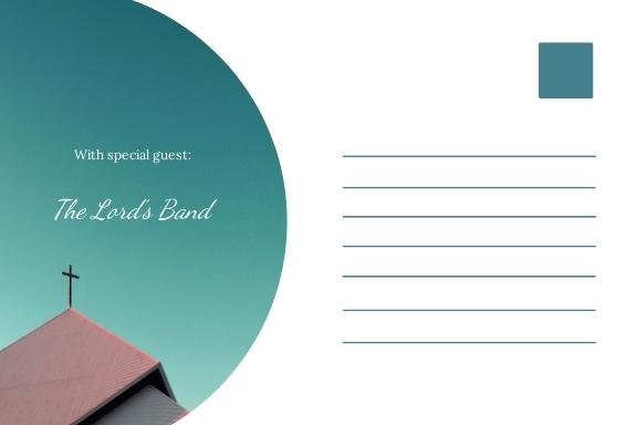 Church Invitation Postcard Template 1.jpe