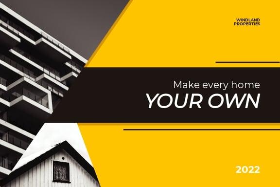 Real Estate Listing Postcard Template