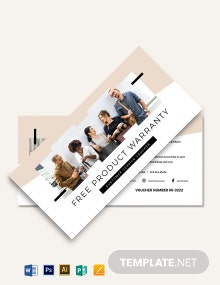 Customer Service Voucher Template