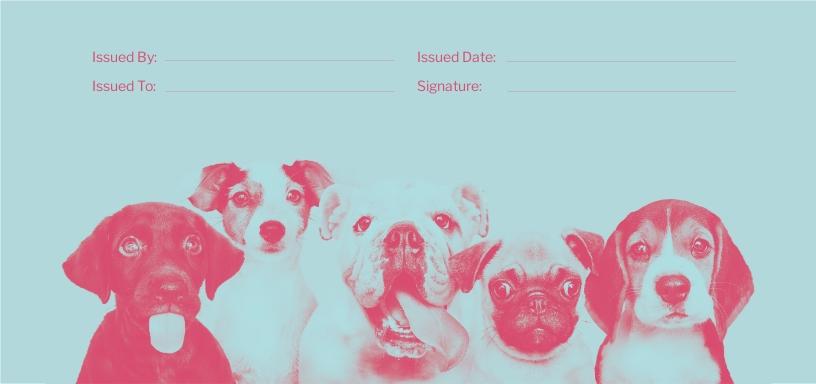 Dog Sitting Love Voucher Template 1.jpe