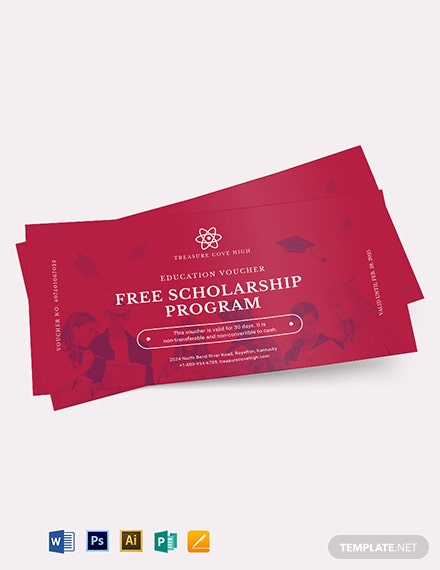 Education Voucher Template