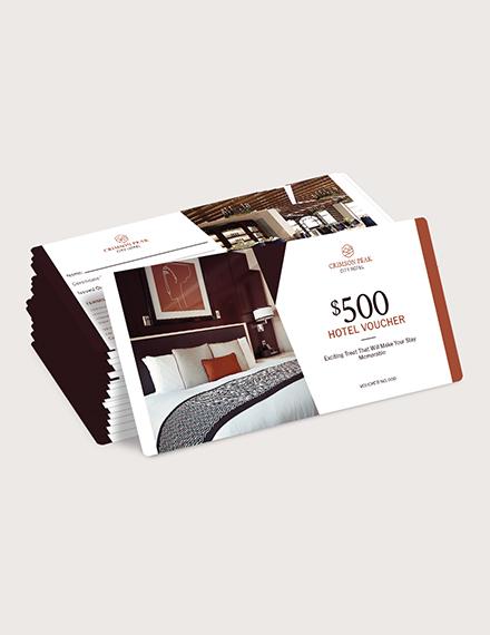 Sample Hotel Promotion Voucher