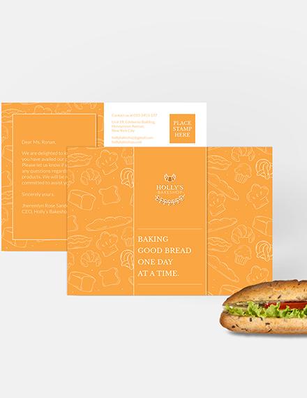 Sample Small Business Postcard