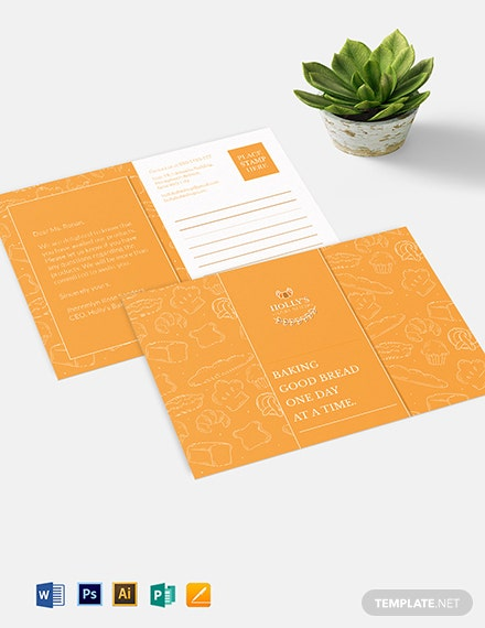 Small Business Postcard Template