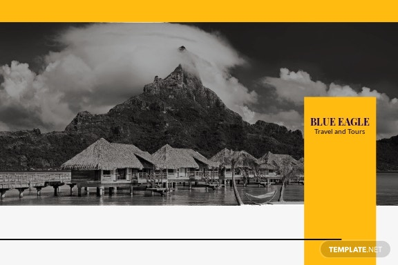 Travel Agency Postcard Template