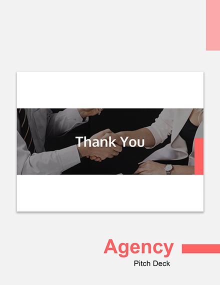 Editable Agency Pitch Deck