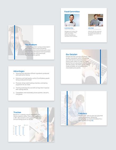 Business Plan Pitch Deck Download
