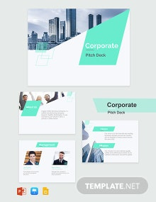 Corporate Pitch Deck Template