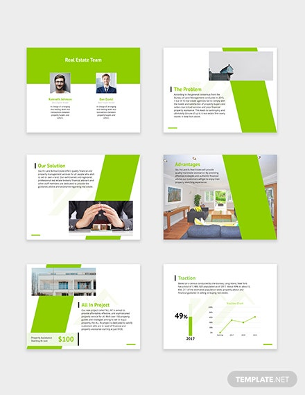 Real Estate Pitch Deck Download
