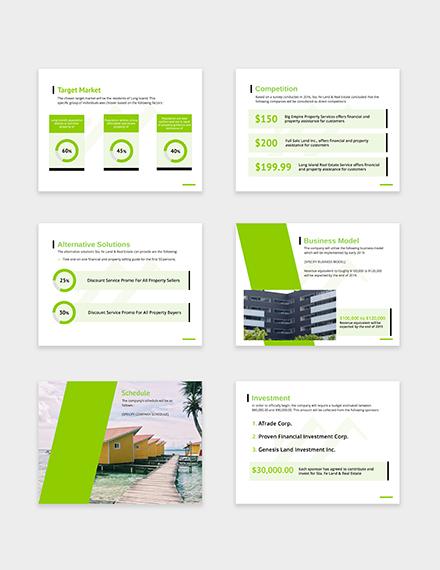 Sample Real Estate Pitch Deck