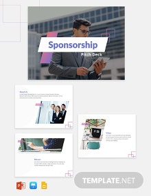 Sponsorship Pitch Deck Template