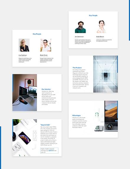Tech Startup Pitch Deck Download
