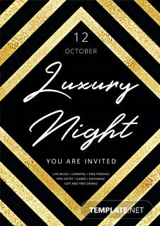 Free Luxury Flyer Template