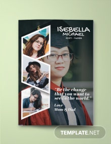 Yearbook Ad Full Page Template