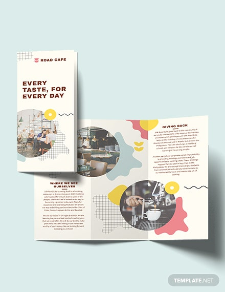 Cafe TriFold Brochure