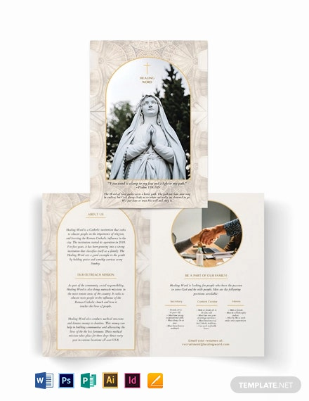 Catholic BiFold Brochure