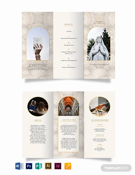 Catholic TriFold Brochure