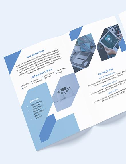 Electronic BiFold Brochure Download