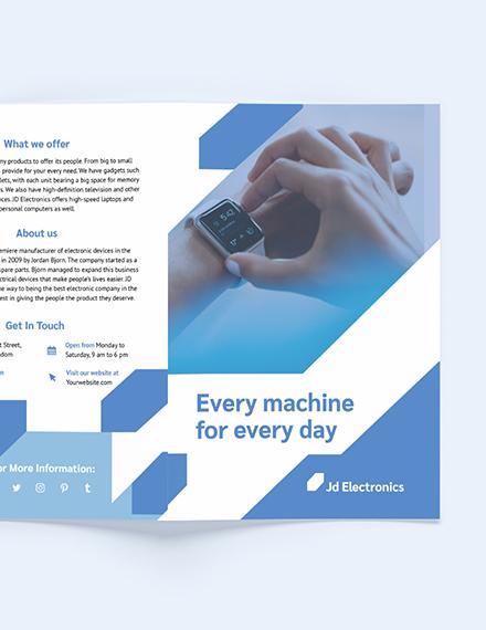 Sample Electronic BiFold Brochure