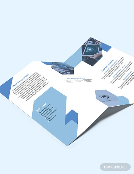 Electronic TriFold Brochure Download