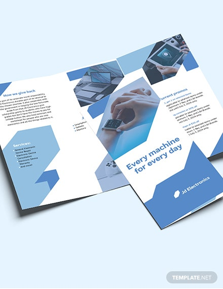 Sample Electronic TriFold Brochure