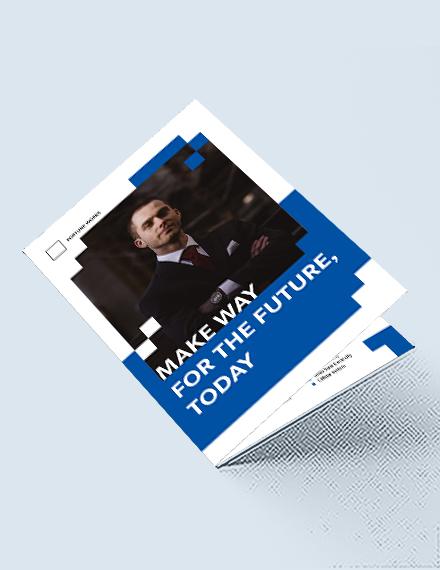 Engineering Consultants Bi-Fold Brochure Template